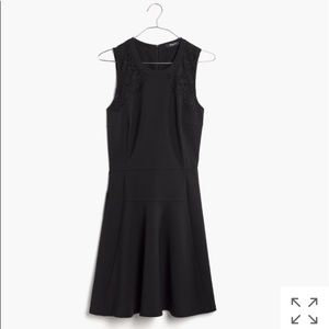 Madewell Lace-Inset Anywhere LBD Dress
